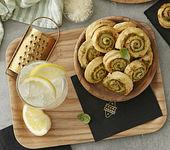 Gin Fizz und Blätterteig-Schnecken mit Grana Padano Riserva