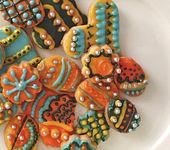 Knallbunte Kekse