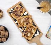Tartelettes mit Birnen, Gorgonzola und Walnüssen