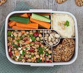 PausenCracker-Lunchbox mit Kichererbsensalat