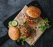 Vegetarische Quinoa-Burger