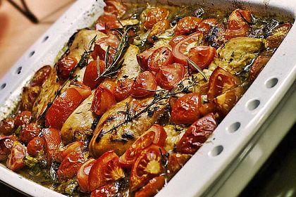 Rezeptbild zum Rezept Toskanischer Hähnchen-Auflauf