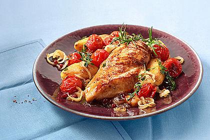 Rezeptbild zum Rezept Toskanischer Hähnchen - Auflauf