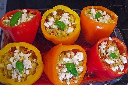 Rezeptbild zum Rezept Gefüllte Paprika mit Bulgur
