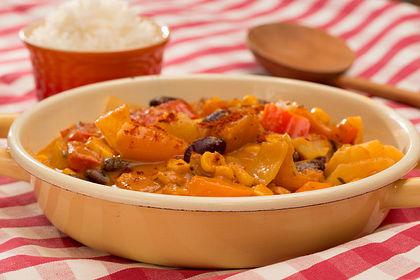 Rezeptbild zum Rezept Afrikanischer Erdnusseintopf