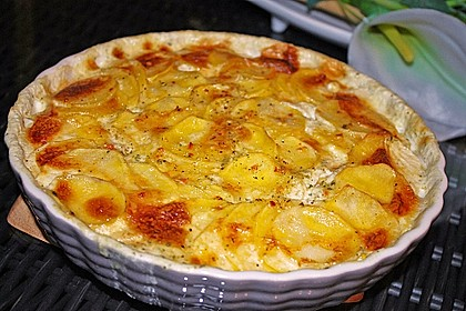 Rezeptbild zum Rezept Das beste Kartoffelgratin