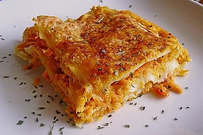Rezeptbild zum Rezept Möhren-Lasagne