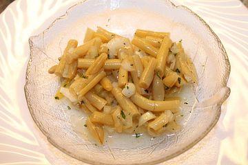 Gelber Bohnensalat