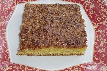 Mandelteppich - Becherkuchen