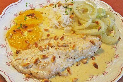 Rezeptbild zum Rezept Orangen-Fisch-Pfanne