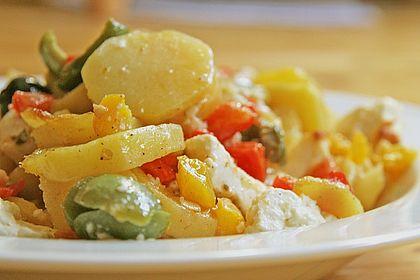 Rezeptbild zum Rezept Griechische Kartoffelpfanne