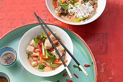 Rezeptbild zum Rezept Thai-Red-Curry für mehrere Variationen
